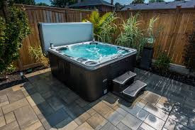 Create a Backyard Retreat with a Hydropool Hot Tub or Swim Spa