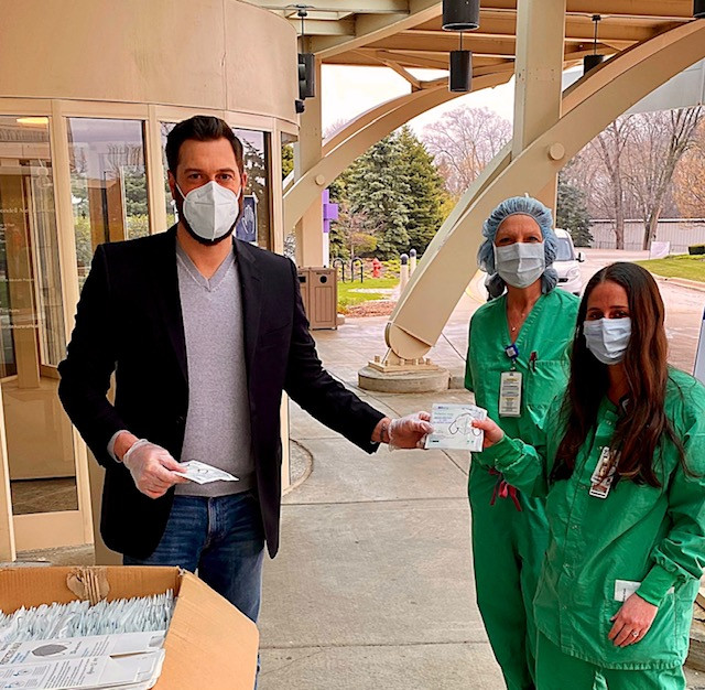 CoViCo donating N95 masks to healthcare workers