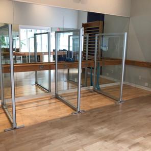 Elements Fitness Studio (partitions)