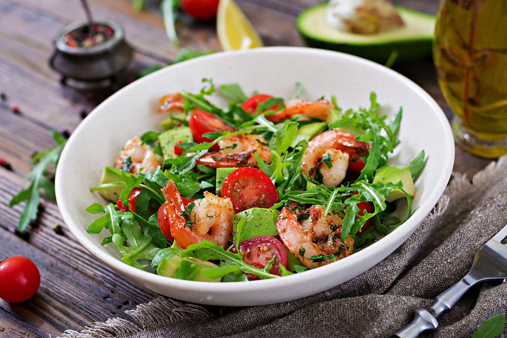 Unlike a Vegan or vegetarian diet, a plant-based diet can occasionally include high quality, sustainably harvested seafood such as shrimp.