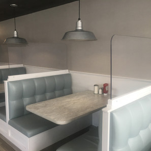 Diner Booth Partition