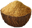 Coconut sugar in a bowl.png