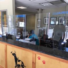 Veterinarian Desk Guard