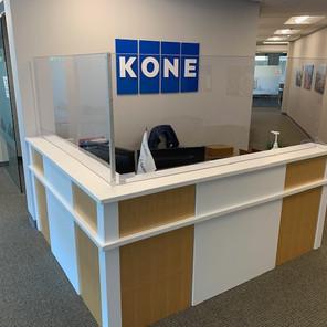 Kone (reception guard)