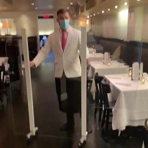 Rolling Restaurant Partition Movie