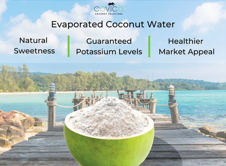 Covico Evaporated Coconut Waters [100% Pure Coconut Water!]