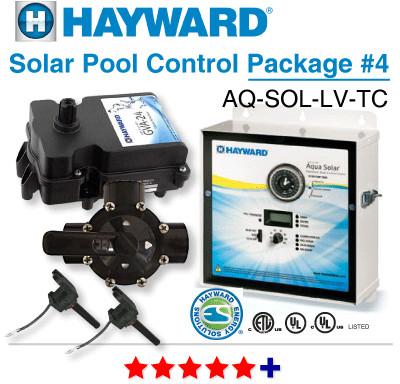 Hayward Aq Sol Lv Tc Digital Solar Control Pkg 4 Solar