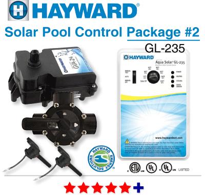 Hayward  GLC-2P-A Swimming Pool Solar Panel Controller  GL-235  Made in USA