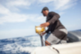 private boat charter for deep sea fishing, Cayman Islands
