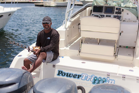 Private fishing charter Cayman Islands
