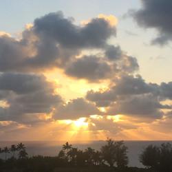 Sunset from Kilauea