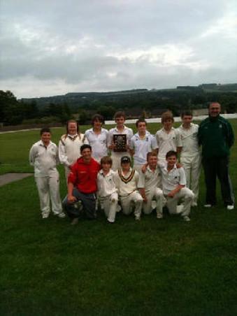 Under 15's League Winners 2010