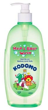 Kodomo Hair & Body Wash, 400ml
