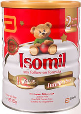Isomil Soy Follow-On Formula, Stage 2, 850g
