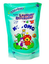 Kodomo Baby Laundry Detergent Extra Care, Refill, 1L