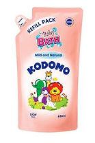 Kodomo Mild & Natural Baby Bath, Refill, 650ml
