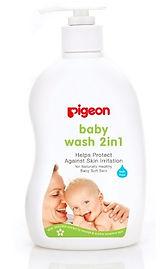 Pigeon SAKURA Baby Wash 2in1, 500ml