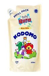 Kodomo Rice Milk Baby Bath, Refill, 650ml