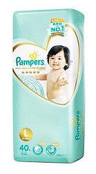 Pampers Premium Care Diaper, L, 40pcs
