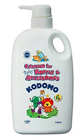 Kodomo Cleanser for Baby Bottle & Accessories, 750ml