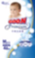Goo.N Premium Diapers, M, 46pcs