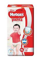 Huggies Silver Pants, XL, 40pcs