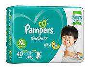 Pampers Baby Dry Diaper, XL, 40pcs