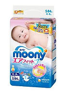 Moony Air Fit Tape, S, 84pcs