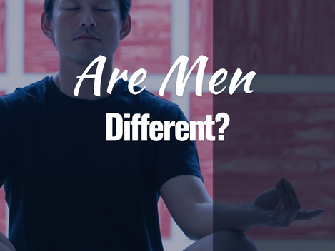 Are men different when it comes to connecting with their inner world?