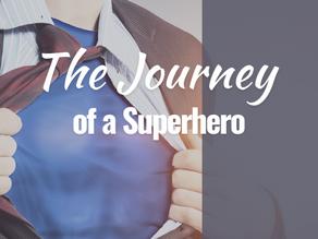 The transformative journey of a superhero.