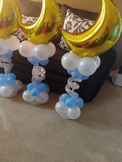 Themed Balloon Centerpiece