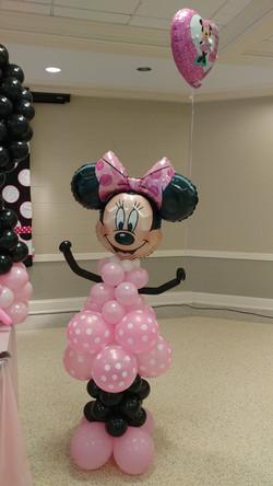 Minniw Mouse Balloon Column