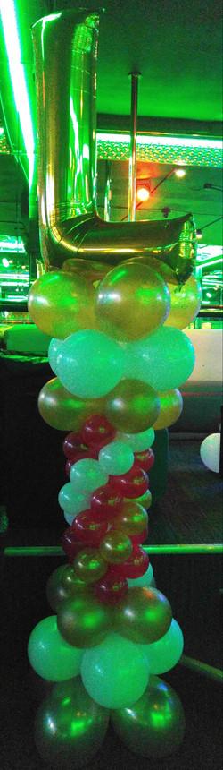Initial Balloon Column