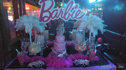 Barbie Theme Sweets Table