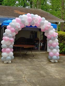 Little Peanut Balloon Arch