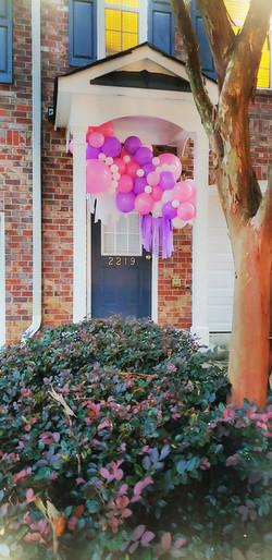 Outdoor Balloon Garland