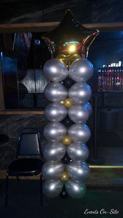 Star Square Balloon Column