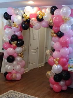 Outdoor Balloon Arch