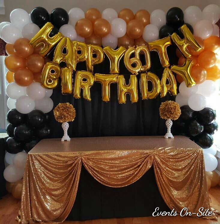 Birthday Balloon Backdrop