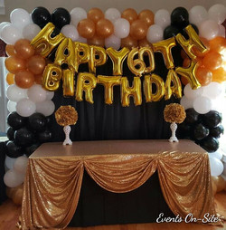 Birthday Balloon Backdrop