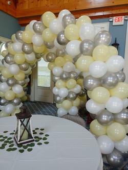 4 Color Balloon Arch