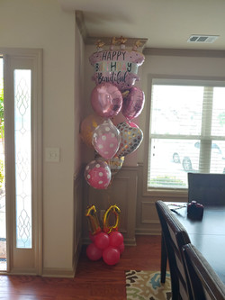 Bithday Balloon Bouquet