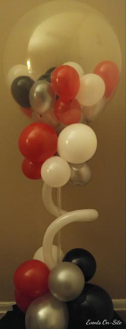 Balloons in a Ball Centerpiece