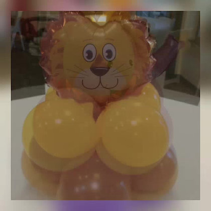 Animal Simple balloon centerpiece
