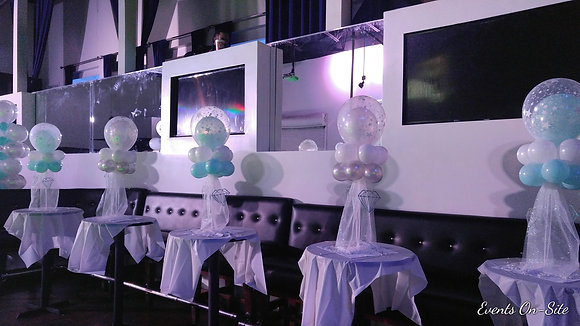 Atlanta Tulle Balloon Centerpiece
