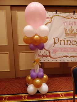 Balloon Column with a Bow
