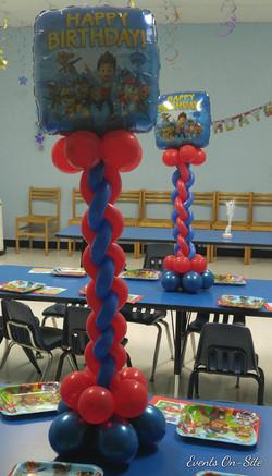 Foil Balloon Centerpiece