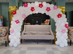 Valentine's Day Balloon Arch