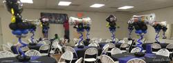 Foil Centerpiece - Graduation