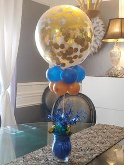 Confetti Balloon Centerpiece